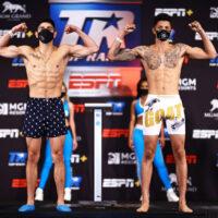 Alex Saucedo vs. Sonny Fredrickson