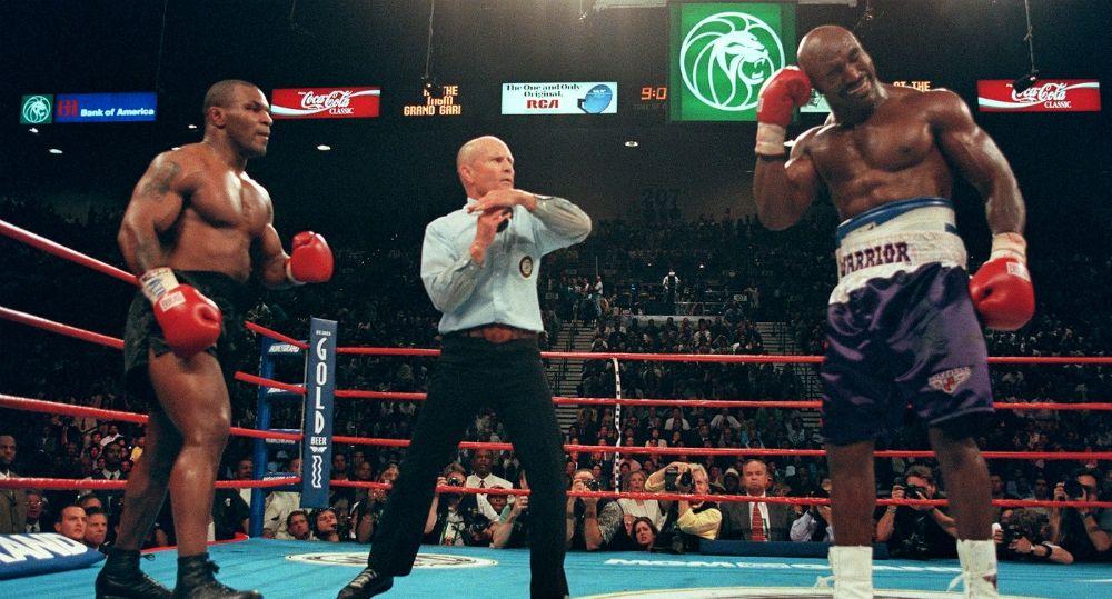 Mike Tyson vs Evander Hollyfield II