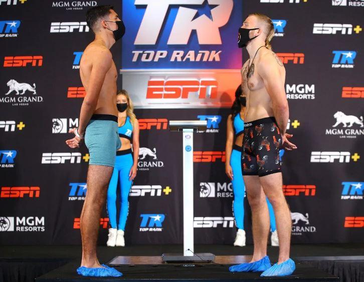Victor Rodríguez vs Justin Horsley