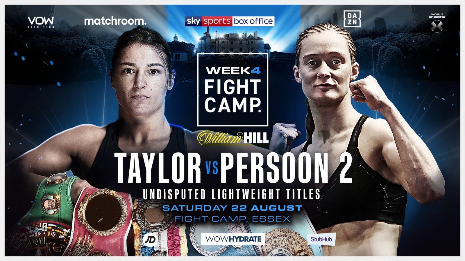 Katie Taylor vs Delfine Persoon