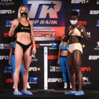 Mikaela Mayer vs Helen Joseph (Foto: Top Rank)