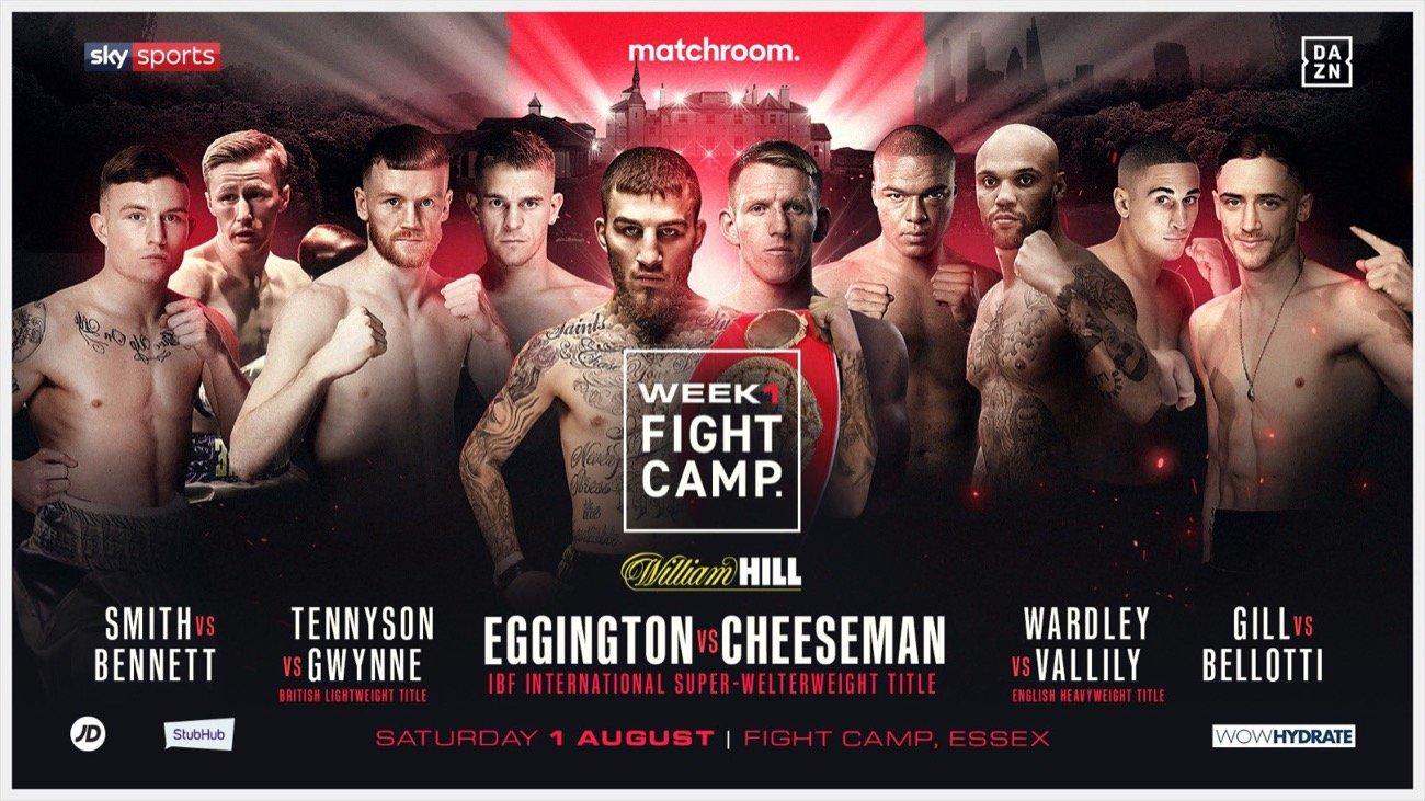 Sam Eggington vs Ted Cheeseman