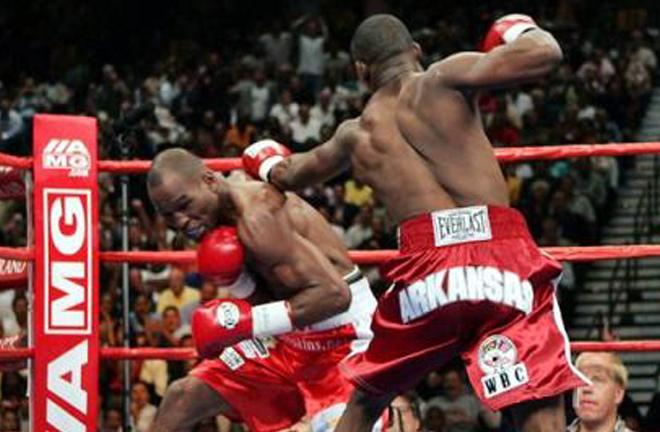 Jermain Tylor vs Bernard Hopkins