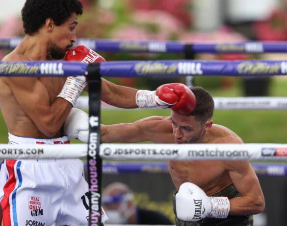 Jordan Gill vs Reece Belloti