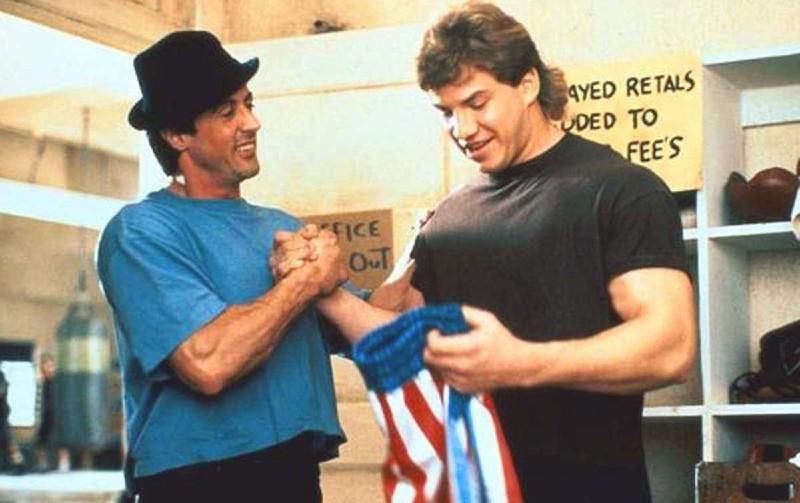 Rocky Balboa y Tommy Gunn.