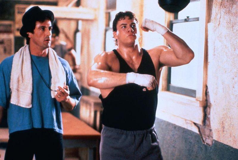 Rocky Balboa y Tommy Gunn