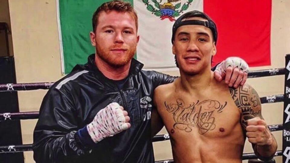 Canelo Álvarez y Oscar Valdez