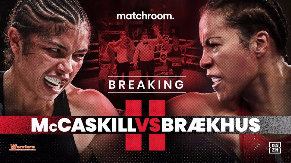 Jessica McCaskill vs Cecilia Brækhus