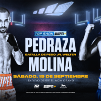 José Pedraza vs Javier Molina