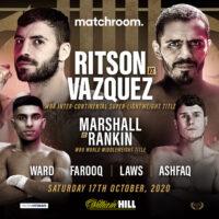 Lewis Ritson vs Miguel Vazquez