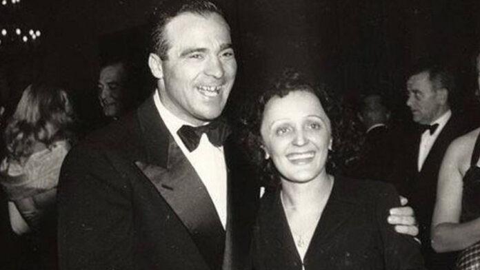 Marcel Cerdán y Edith Piaf