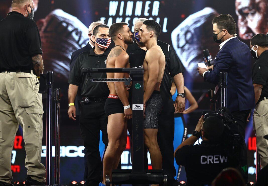 Vasyl Lomachenko vs Teofimo Lopez