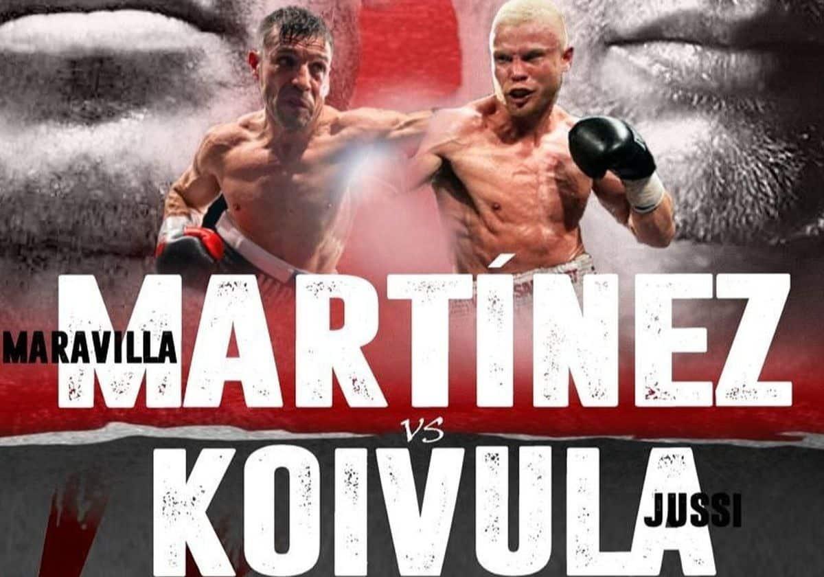 Sergio 'Maravilla' Martinez vs Jussi Koivula